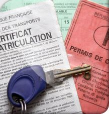 Le certificat d'immatriculation