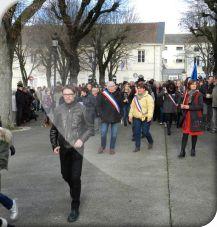Marche de solidarité en soutien à Charlie Hebdo