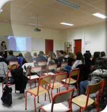Forum des métiers au Collège Léon Huet