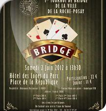 1er Tournoi de Bridge de la ville de La Roche-Posay