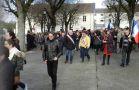 Marche de solidarit� en soutien � Charlie Hebdo