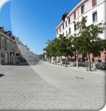 Travaux de voirie en centre-ville