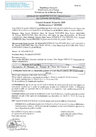 8-20190102 approbation modification n° 2 du PLU